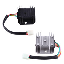 Regulator Rectifier 4 Wires 4 Pins 12 Voltage For 150-250CC Motorcycle Scooter Moped ATV Motocicleta Accessories Aluminium Alloy(China)