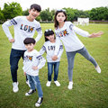 Matching Family Clothing 2015 Autumn Style Sweater Family Look Matching Mother and Daughter Fasther and Son Long Sleeve Sweater