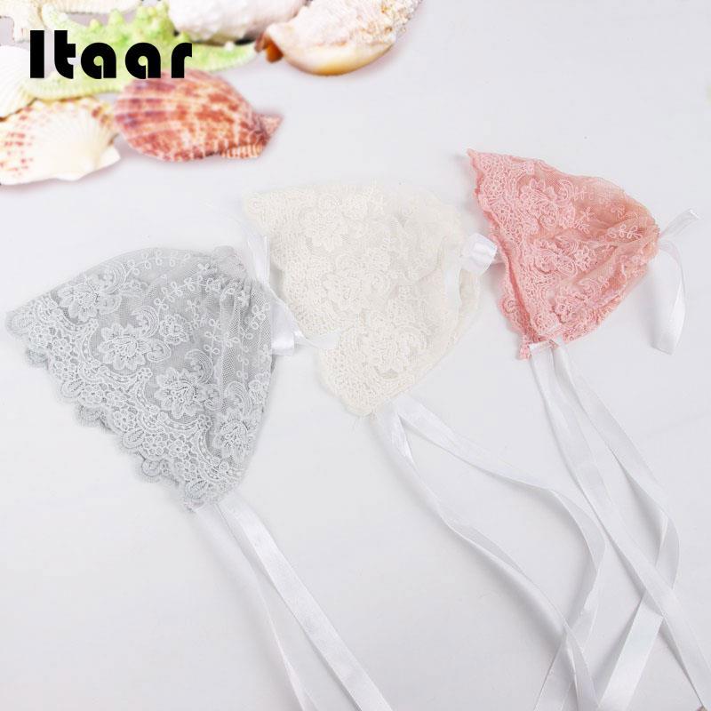 Infant Newborn Girls Kids Lace Floral Hat Cap Beanie Bonnet Hats Photo Prop  2017 095ae13866a5