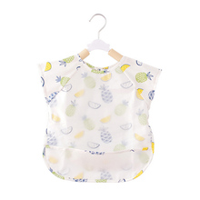 Baby Cotton Bibs Kids Girl Boy Children Cartoon Waterproof Dinner Feeding Bib Infant Newborn Burp Cloths Apron
