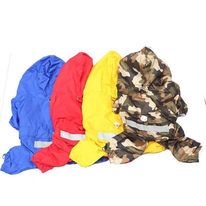 Fc81-gratis-verzending-pet-hond-regenjas-kleding-waterdicht-taffeta-4-benen-regenjas-voor-puppy-hond-kleding
