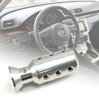 Fashion Universal Car Manual Gear Stick Shift Shifter Lever Knob Silver XH-2229 New Gear Shift Knob