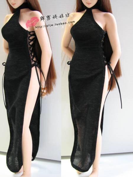 1/6 масштаб платье для Phicen бесшовные тело женский кукла фигурка одежда, кукла не включают