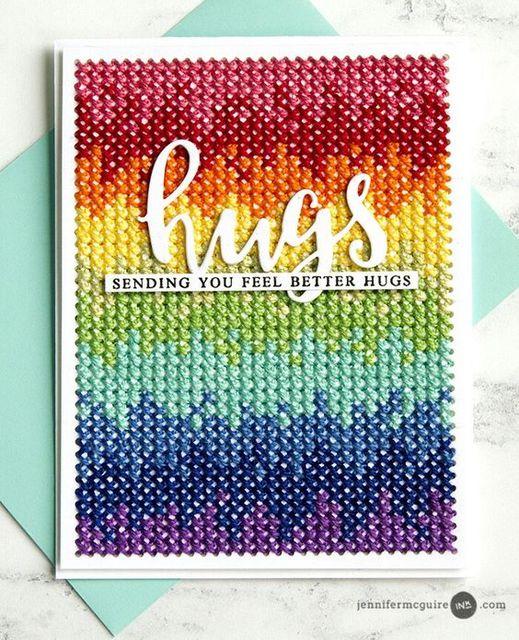 KLJUYP Cross-Stitching Metal Cutting Dies Stencils for DIY Scrapbooking/photo album Decorative DIY Paper Cards