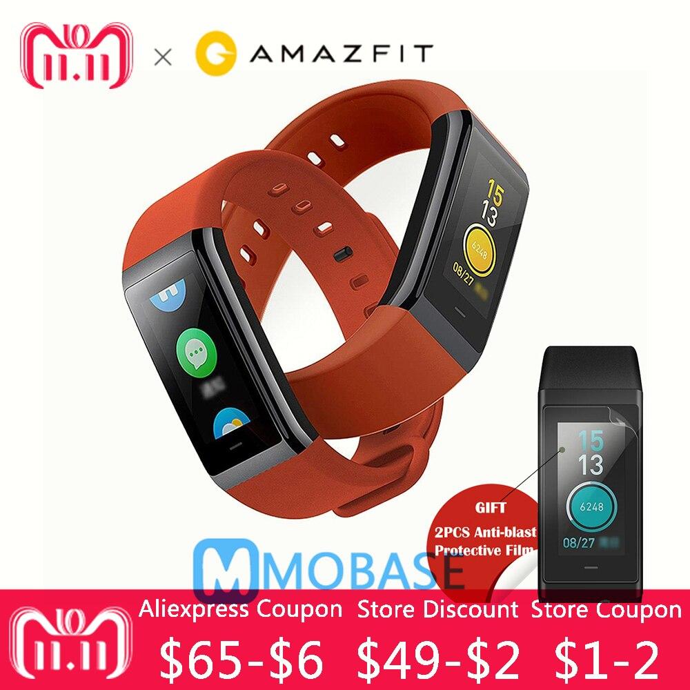 [Versione inglese] Originale Huami Amazfit Cor Bluetooth Braccialetto Intelligente 5ATM Impermeabile 2.5D Color IPS 316L Telaio In Acciaio Inox