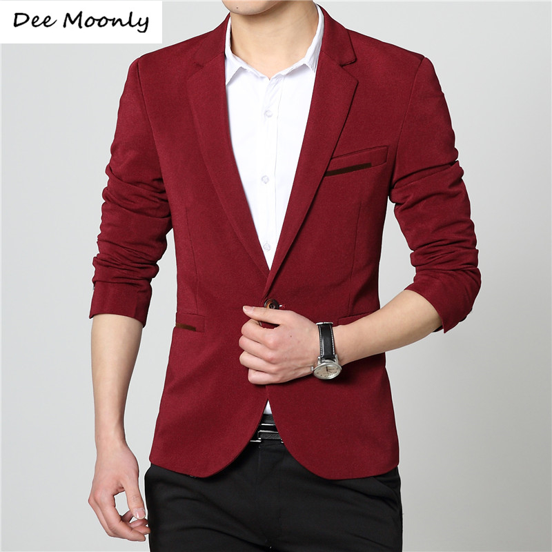 Online Get Cheap Mens Red Slim Fit Blazer -Aliexpress.com ...