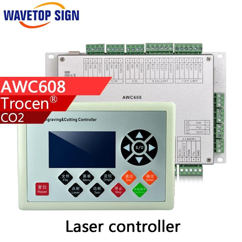 trocen laser machine control card AWC608  1set laser head owx8060 owy8075 onp8170