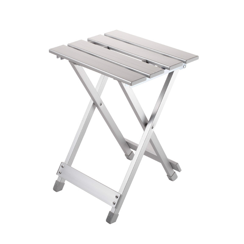 Outdoor multifunctional folding stool ultra light fishing chair Aluminum Alloy fishing stool portable beech chair picnic chair bamboo bamboo portable folding stool have small bench wooden fishing outdoor folding stool campstool train