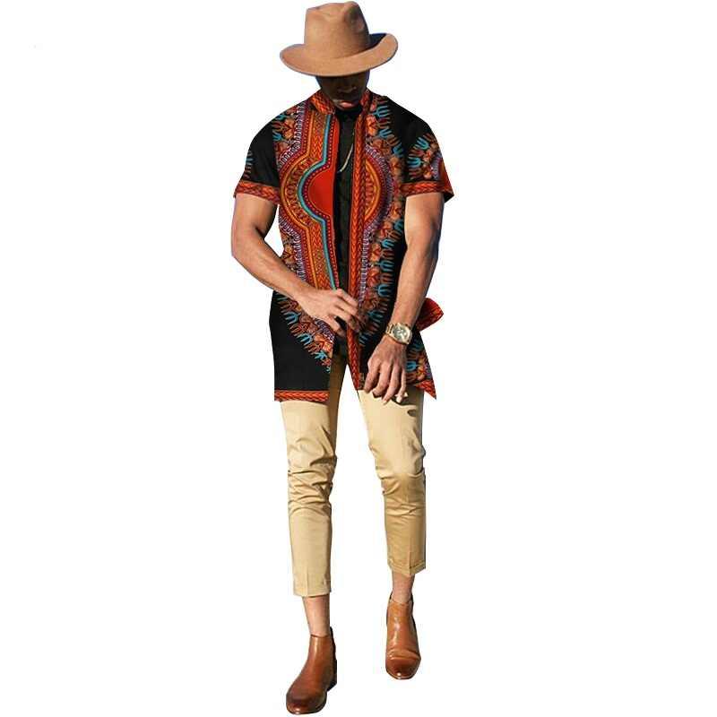 رداء أفريقي فساتين أفريقية لأفريقيا بازان الثراء فساتين Dashiki الأفريقية هرع القطن 2019 جديد وصول الرجال الملابس