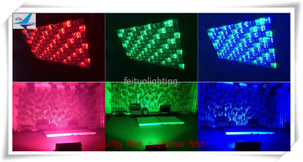 10xlot Theatrical lighting 108pcs 3w ip65 waterproof led strobe panel light 108x3 wash led panel ip65