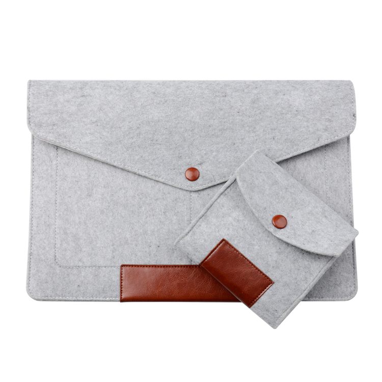 Серый мода шерсти Фетр ноутбук защитный рукав мешок ...