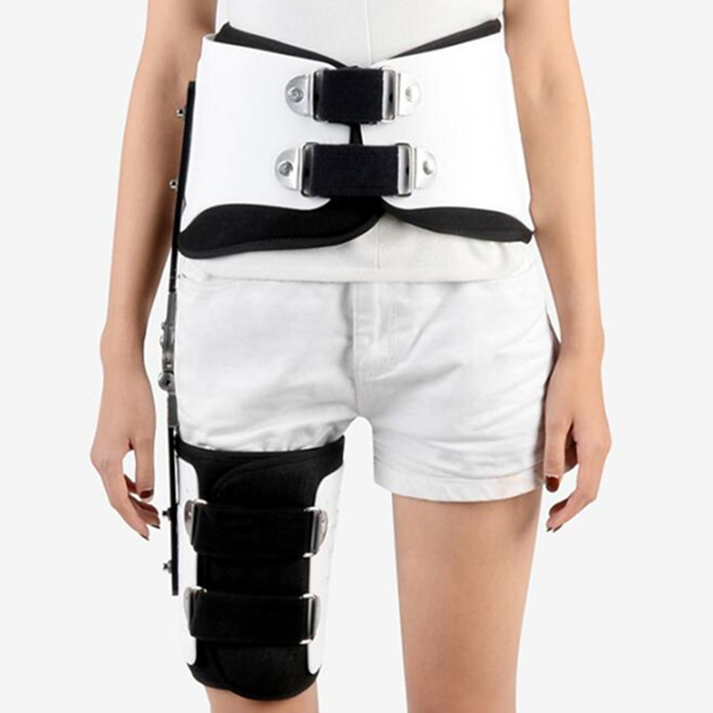 Image 5 - JayCreer Hip Fixation Brace Orthosis Extension Stent Thigh Fractures Corrective Protective Gear Support Fit Waist Size Max 114CM-in Braces & Supports from Beauty & Health