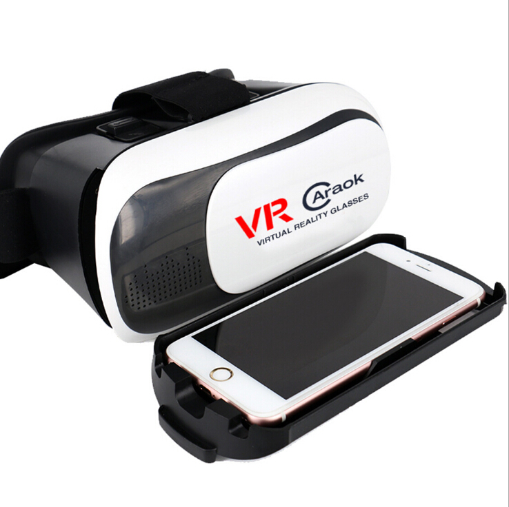 Caraok VRCARAOK V2-BOX Headset 3D Virtual and Realistic Glasses 3D VR Glass F19632