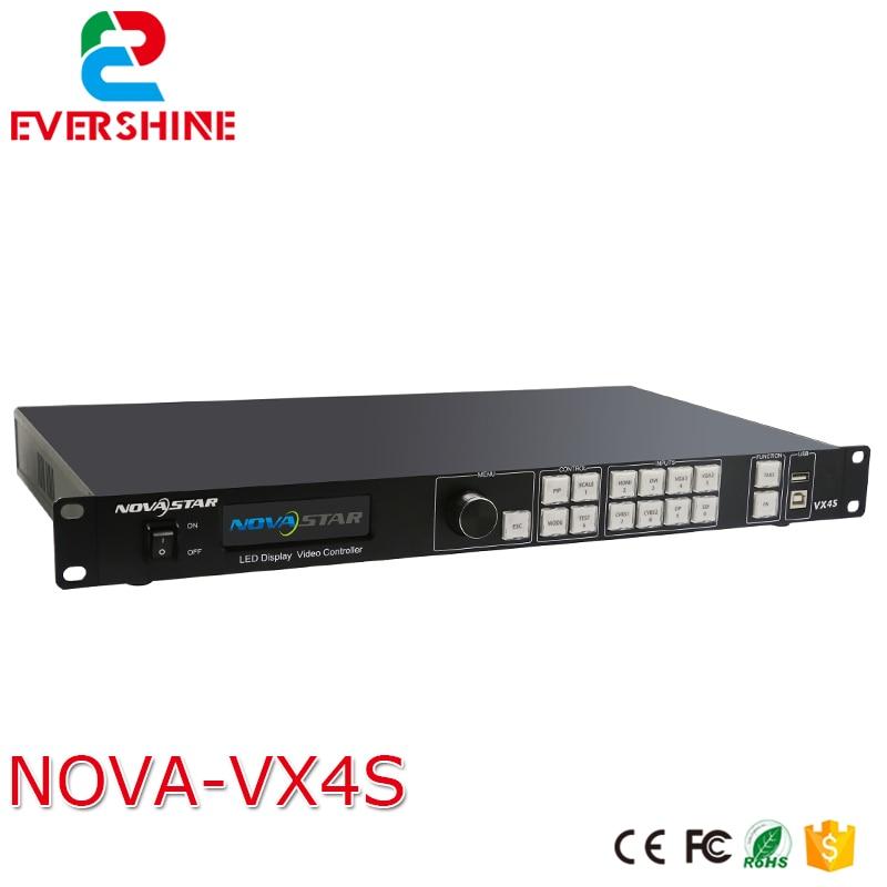 Haute qualité NOVA VX4S all-in-1card, 2.3 millions de pixels, HDMI/DVI/VGA/CVBS/DP/3G-SDI entrée LED location écran vidéo contrôleur