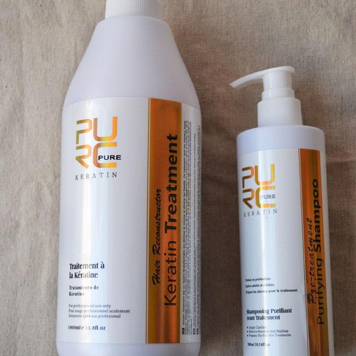 Kératine brésilienne traitement des cheveux formaline 5% 1000ml - Soin des cheveux et coiffage - Photo 5