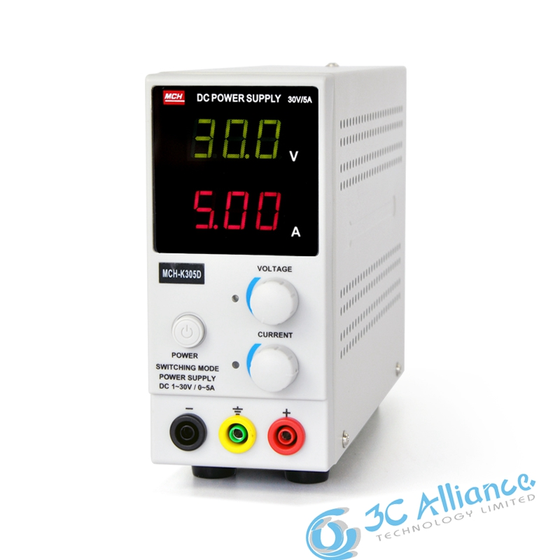 ФОТО  New Updated MCH-K305D Mini Switching Regulated Adjustable DC Power Supply SMPS Single Channel 30V 5A Variable