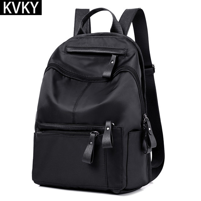 2017 Fashion Women Backpacks Waterproof nylon School Bag Female Casual Travel Shoulder Bags Mochila for Teenagers Girls Rucksack