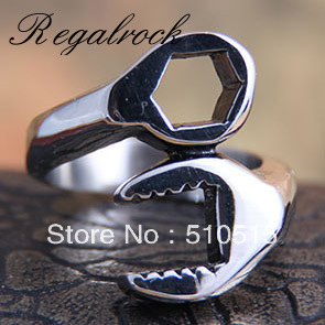 Regalrock Fashion Spanner Wrench Plier Ring