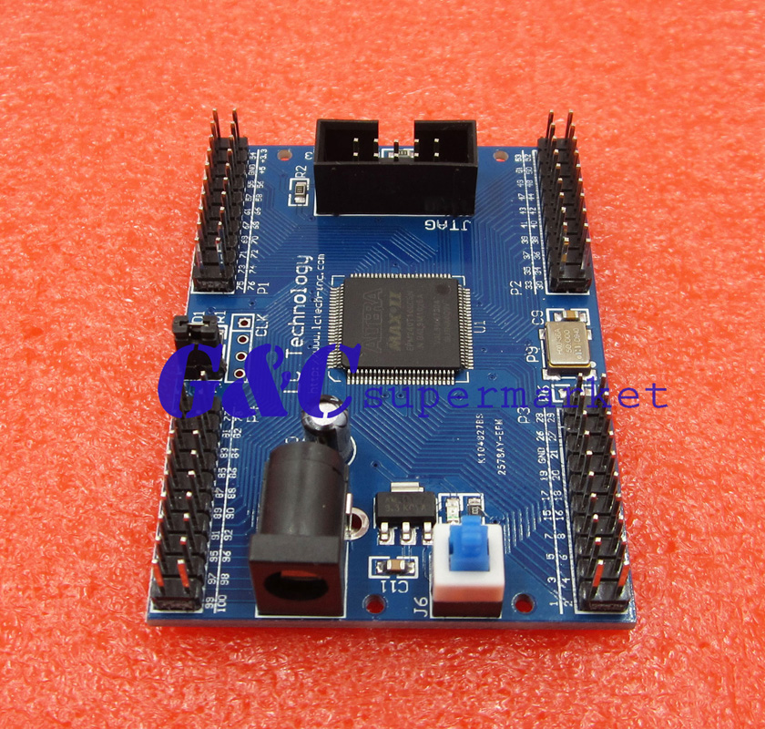 Max Ii Epm240 Cpld Development Board Learning Board Breadboard Diy Electronic Online Shop Integrated Circuits