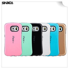 Sinbeda iFace Gel Shockproof Soft TPU Silicone Back Cover Hybrid TPU PC For