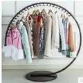 Железная шляпа для одежды в европейском стиле, стенд на полу, витрина для магазина модной одежды