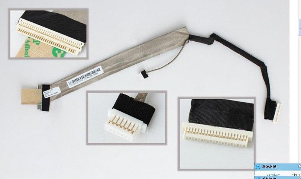 WZSM NEW Laptop LCD Flex Cable For HP Compaq Presario C700  G7000 Series Laptop Cable P/N DC02000FM00