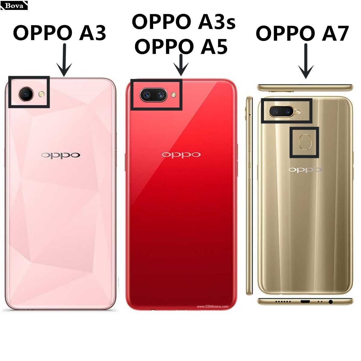 more photos 11c90 53fac OPPO A5 A3s A7 card holder cover case for OPPO A5 A3 A7 6.2-inches Pu  leather case wallet flip cover