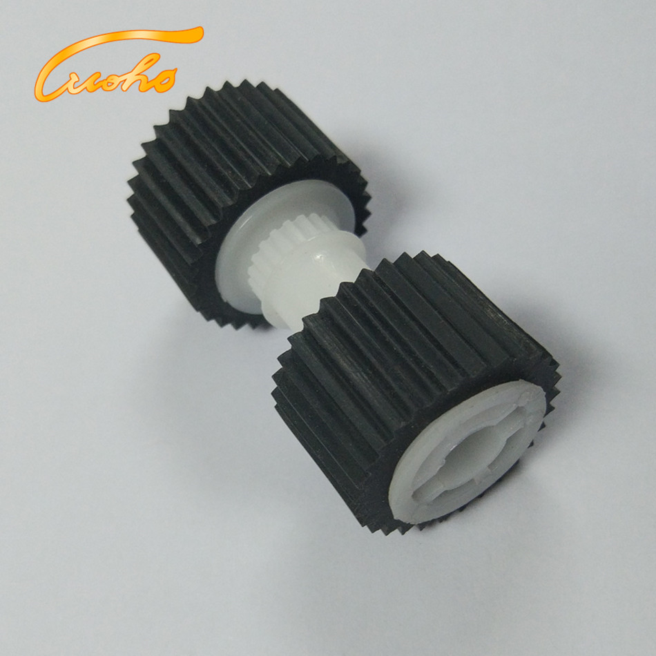 100 pcs FB5-3435-000 IR8500 pickup roller for Canon IR 5000 5010 5110 5020 5150 6000 6570 7105 Paper feed roller FF5-9779-000 2ar07220 2ar07230 2ar07240 paper pickup feed separation roller tire rubber for kyocera km1620 1650 2020 2050 3035 3040 4030 5050
