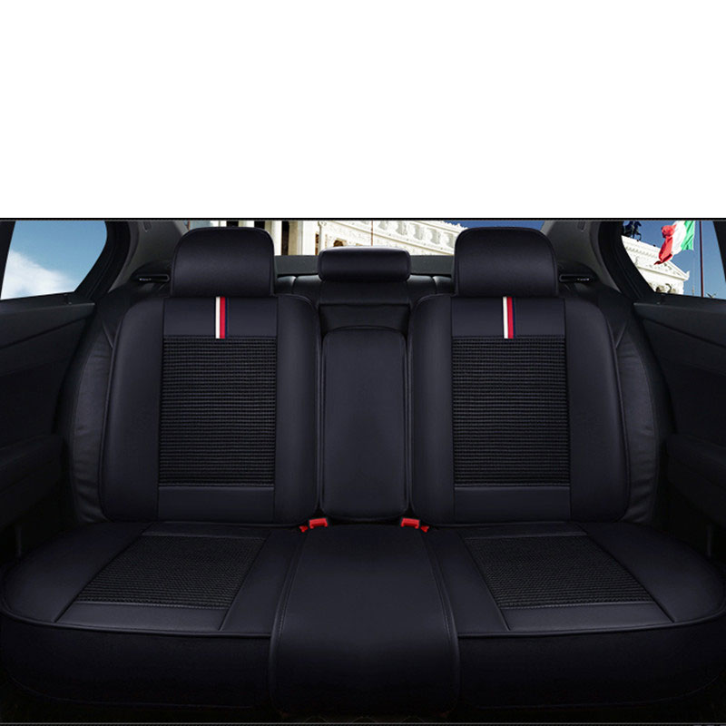 Leather car seat cover auto seats covers for nissan cefiro leaf livina note pathfinder patrol sunny primera 2005 2004 2003 2002