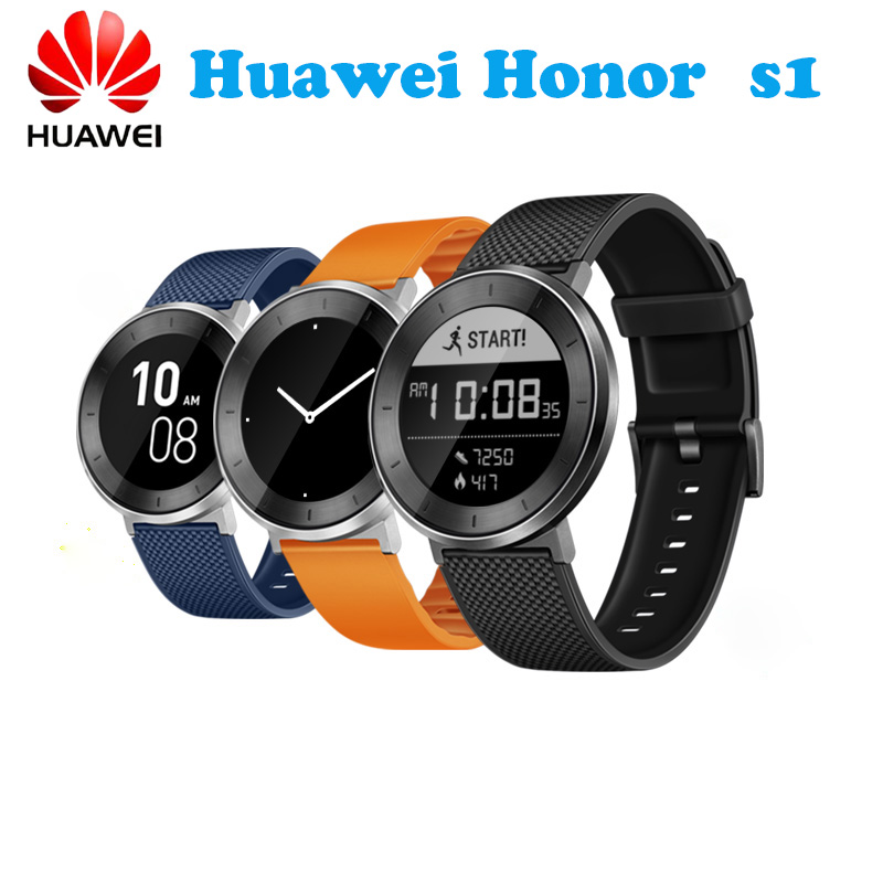 Original Huawei Fit Honor S1 Smart Watch 5ATM SWIM CONTINUOUS HEART RATE LONG BATTERY LIFE TO 6 DAYS PK Apple Watch Series 2 ...