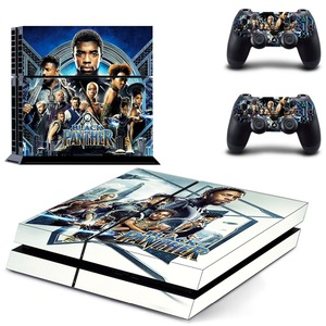Image 3 - The Avengers Black Panther PS4 Skin Sticker Decal Vinyl for Sony Playstation 4 Console and 2 Controllers PS4 Skin Sticker