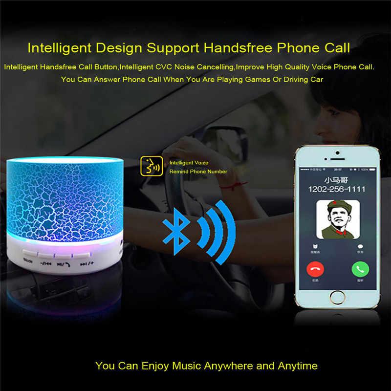 Dropship 1 PCS DC 5 V 500 mAh 3 W Auto Radio Eccellente Senza Fili di Bluetooth Portatile A9 USB Subwoofer Musica scatola Altoparlante Car Audio