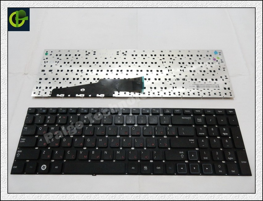 New Russian Keyboard for Samsung 300E7A 305E7A NP300E7A  NP305E7A NP300 E7A Black RU laptop keyboard new russian for hp envy x2 11 g000 g003tu tpn p104 hstnn ib4c c shell ru laptop keyboard with a bottom shell