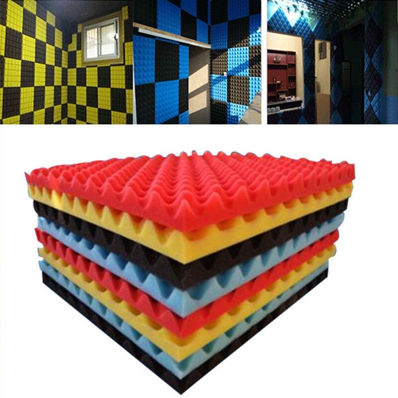 Sound Absorbing Sponge Soundproof Foam Acoustic Foam Sound Treatment Studio Room Absorption Wedge Tiles Polyurethane foam