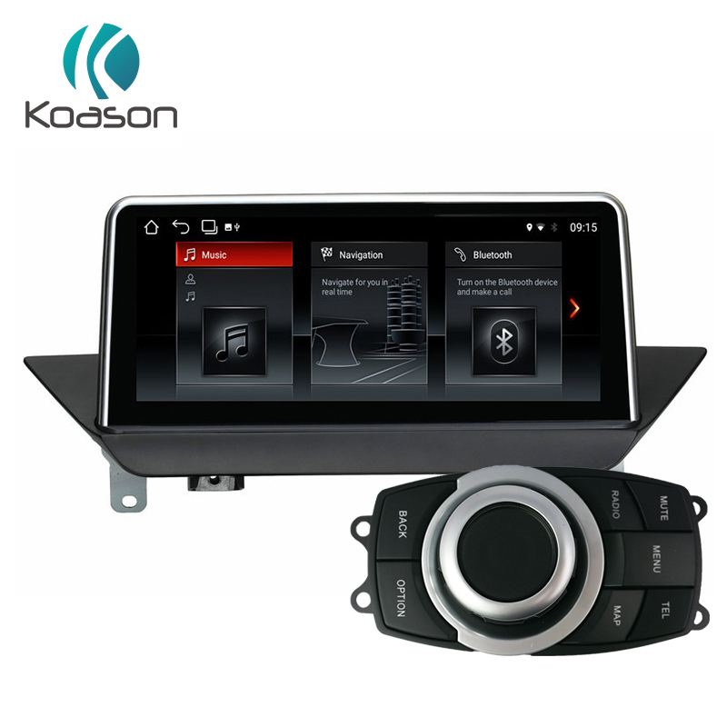 Koason android 8.1 GPS di Navigazione per BMW X1 E84 2009-2015 Wifi, Bluetooth, radio, audio touch screen, idrive Auto Lettore Multimediale