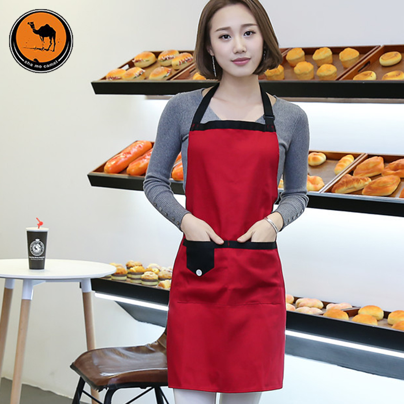 BBQ Tools Aprons Barbecue Accessories Portable DIY Waterproof anti-fouling Halterneck Kitchen Cooking