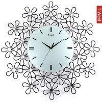Wooden arch hammock silent wall clock personalized tieyi diamond clock fashion pocket watch fashion