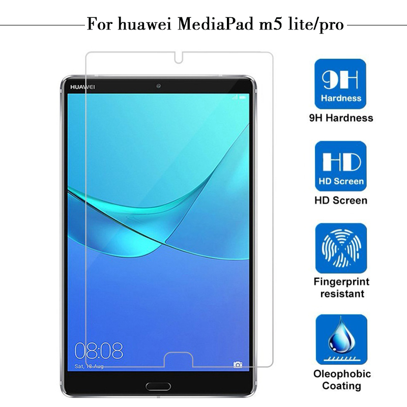 Protective Glass For Huawei MediaPad M5 Lite Pro Tablet Screen Film Media Pad M5 Tempered Glass For MediaPad M 5 Light 10 8.4