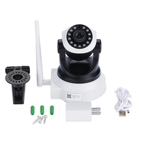 WIFI IP Cam Surveillance Camera 1080P HD 3 6MM Lens Built In 45DB Mic IR Night