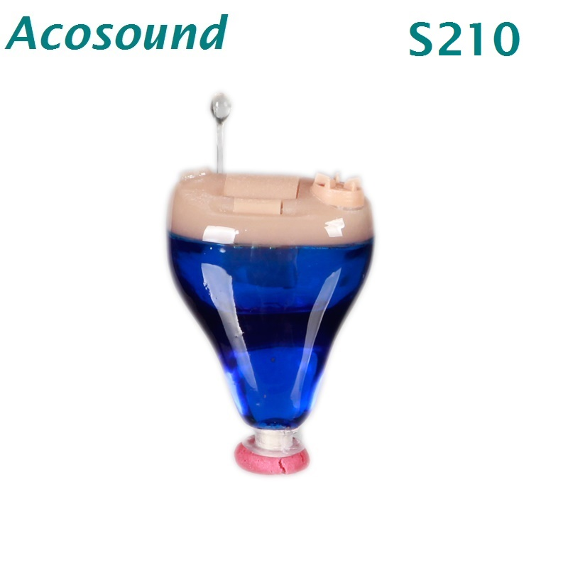 AcoSound Listening Hearing Aids Sound Voice Amplifiers Tone Volume Adjustable S210 Hearing Aid For The Deaf Hearing Device best digital hearing aid for the elderly deaf hearing aids china price sound amplifier free shipping voice device s 100a