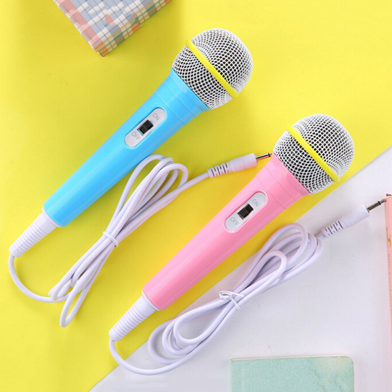 Musical Instrument Wired Microphone Toy Karaoke Singing Kid Funny Gift Music Toy Microphone Toy Kids Children Christmas Gift