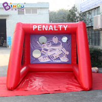 2.5x3.5x2mH Indoor inflatable soccer darts boards for sport game inflatable toys