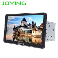 JOYING 10.1 inch Android 8.1 2 din Car Radio 4GB+32GB Octa Core GPS IPS HD Built in DSP support Fast Boot Android auto stereo BT
