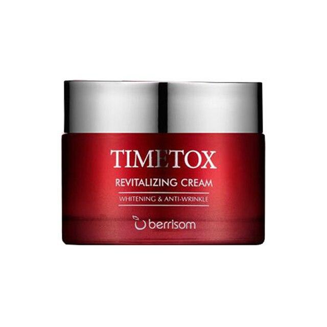 BERRISOM Timetox Revitalizante Creme 50g Coreano Rosto Creme Clarear A Pele Branqueamento Creme Para o Rosto Cuidados Com A Pele Hidratante Nutritivo