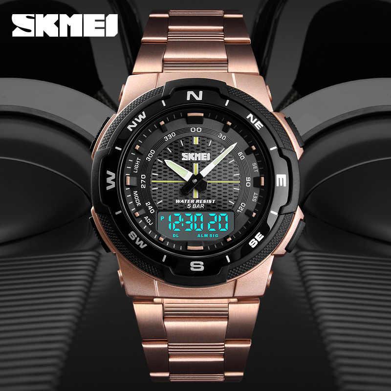 82f0d8c307b8 2018 nuevo reloj de pulsera de cuarzo impermeable informal de lujo de marca  superior reloj de