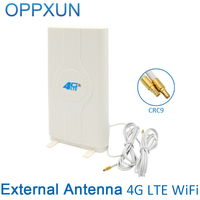 4G LTE External Panel Antenna 700 2600MHz Antenna CRC9 Connector