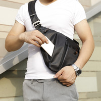 New Knapsack Fashion Men Crossbody Bag Man Storage Gun Back Pack Leisure Male Waist Bag One Shoulder Single Strap Backpacks