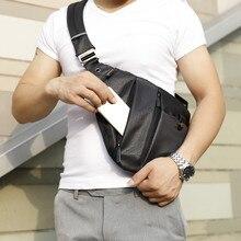 Nueva mochila a la moda para hombre, bandolera, bolsa de almacenamiento para hombre, mochila de ocio para hombre, riñonera de un solo hombro, mochilas con una sola Correa