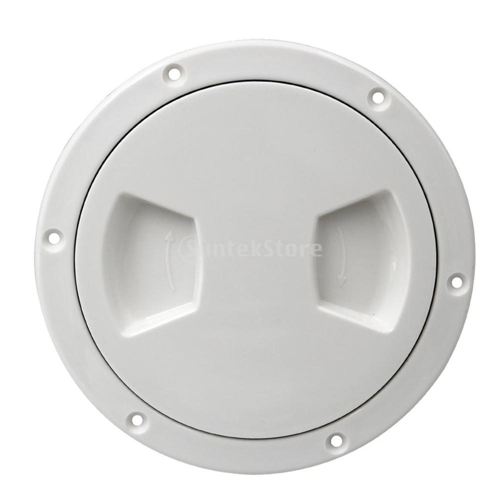 Image 4 - 5 inch Non Slip Deck Plate Corrosion Resistant Marine Access Boat Inspection Hatch Cover Plate for Marine Boating Water Sport-in Marine Hardware from Automobiles & Motorcycles