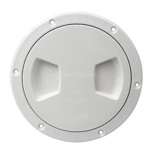 Image 4 - 5 inch Non Slip Deck Plate Corrosion Resistant Marine Access Boat Inspection Hatch Cover Plate for Marine Boating Water Sport